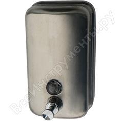 Дозатор для жидкого мыла solinne из нержавеющей стали, тм 801ml, матовый, 500 мл 2512.031