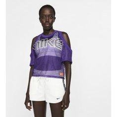 Женская футболка из сетчатой ткани NikeLab Collection