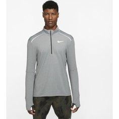 Мужская беговая футболка с молнией на половину длины Nike 3.0