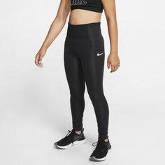Тайтсы для тренинга для девочек школьного возраста Nike Studio