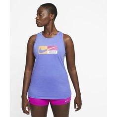 Женская майка с графикой для тренинга Nike Dri-FIT Icon Clash