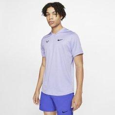 Мужская теннисная футболка с коротким рукавом Rafa Challenger Nike