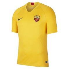 Мужская игровая футболка с коротким рукавом Nike Breathe A.S. Roma Strike