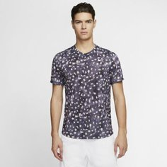 Мужская теннисная футболка с коротким рукавом NikeCourt Challenger