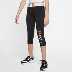 Тайтсы для тренинга для девочек школьного возраста Nike One