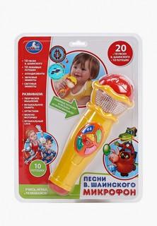 Игрушка интерактивная Умка Umka Микрофон музыкальный детский
