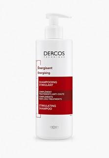 Шампунь Vichy DERCOS AMINEXIL. Тонизирующий, против выпадения волос, 30% в подарок, 400 мл