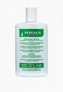 Средство для снятия лака Mavala профессиональное Кристал Nail Polish Remover Crystal, 230 мл