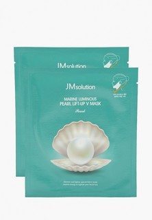 Набор масок для лица JMsolution Набор масок для лица, Для подтяжки контура с протеинами жемчуга, 2 шт х 25 мл.