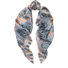 Платки Michele Binda Шелковый платок с принтом Michele Binda