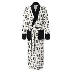Халаты Dolce & Gabbana Хлопковый халат Dolce & Gabbana