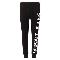 Хлопковые джоггеры Versace Jeans Couture