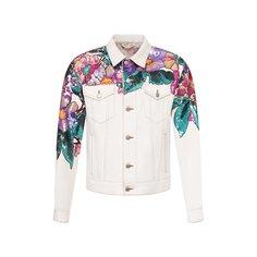 Куртки Dries Van Noten Джинсовая куртка Dries Van Noten