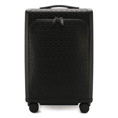 Чемоданы Salvatore Ferragamo Кожаный чемодан Salvatore Ferragamo