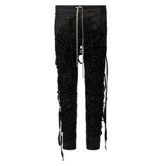 Брюки Rick Owens Хлопковые брюки Rick Owens