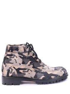 Комбинированные ботинки Moreschi