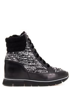 Комбинированные кроссовки WBHP60478 N50 Santoni