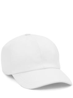 Бейсболка кашемировая CAD401/3678/003/ Белый Enrico Mandelli