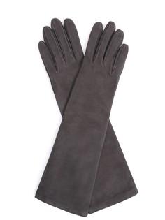 Перчатки замшевые удлиненные Sermoneta Gloves
