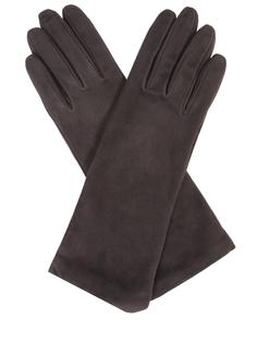 Перчатки удлиненные замшевые Sermoneta Gloves