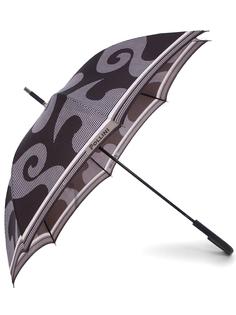 Зонт-трость с принтом 18963 Pollini
