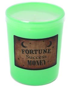 Свеча ароматическая Fortune Candle Зеленый/140гр.