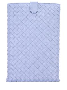 Кожаный чехол для mini iPad 325170 Голубой Bottega Veneta