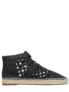 Плетеные ботинки Celine