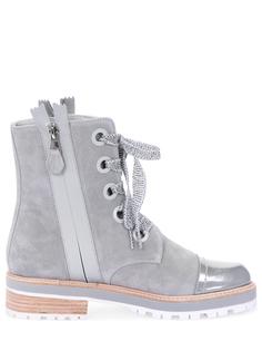 Замшевые ботинки 201W16759D1 Pertini