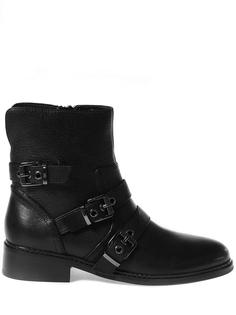 Кожаные ботинки с пряжками Nori Kendall+Kylie