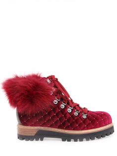 Бархатные ботинки St. Moritz Lesilla