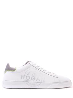 Кожаные кеды Hogan