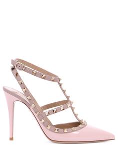 Туфли кожаные ROCKSTUD Valentino