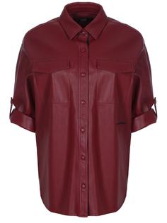 Блуза из искусственной кожи 96КW1911 543 Karl Lagerfeld