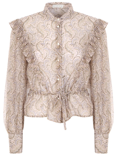 Блуза с принтом Etro