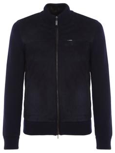 Замшевая куртка с мехом ласки Zilli