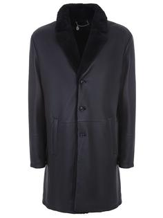 Куртка кожаная удлиненная Hettabretz