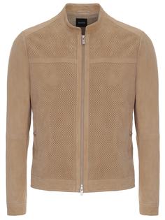Куртка кожаная 50408663 Boss