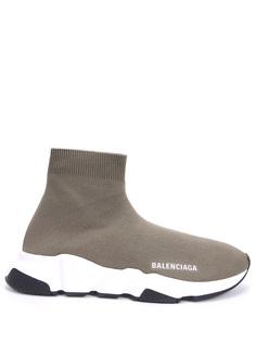 Кроссовки текстильные Speed Balenciaga