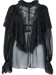 Кружевная блуза F7Z65T Черный Dolce & Gabbana