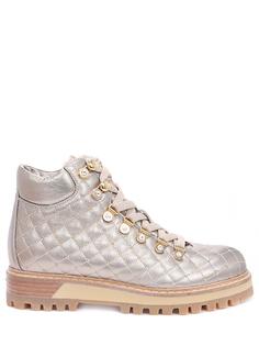 Кожаные ботинки на меху Lesilla