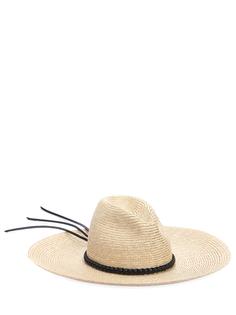Шляпа соломенная Saint Laurent