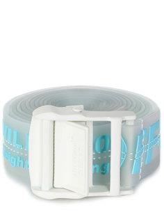 Ремень силиконовый с логотипом Off White