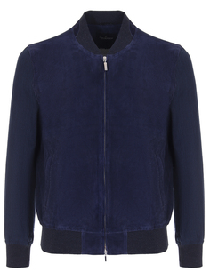 Куртка-бомбер комбинированная Capobianco