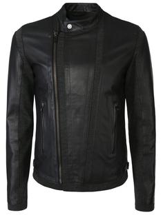 Комбинированная куртка-косуха Dirk Bikkembergs