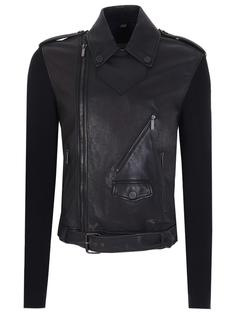 Комбинированная куртка-косуха John Galliano