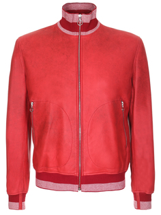 Куртка кожаная 17156/15103/красн Seraphin