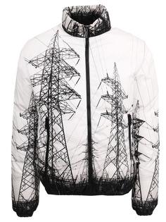 Куртка с принтом Dsquared2