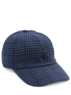 Бейсболка шерстяная в клетку CAP4P14413886 Enrico Mandelli