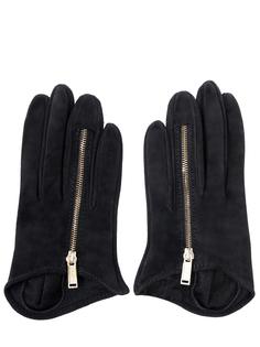 Замшевые перчатки Dsquared2